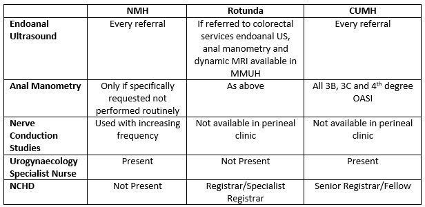 A Dedicated Perineal Clinic – An Audit in Support – Irish Medical