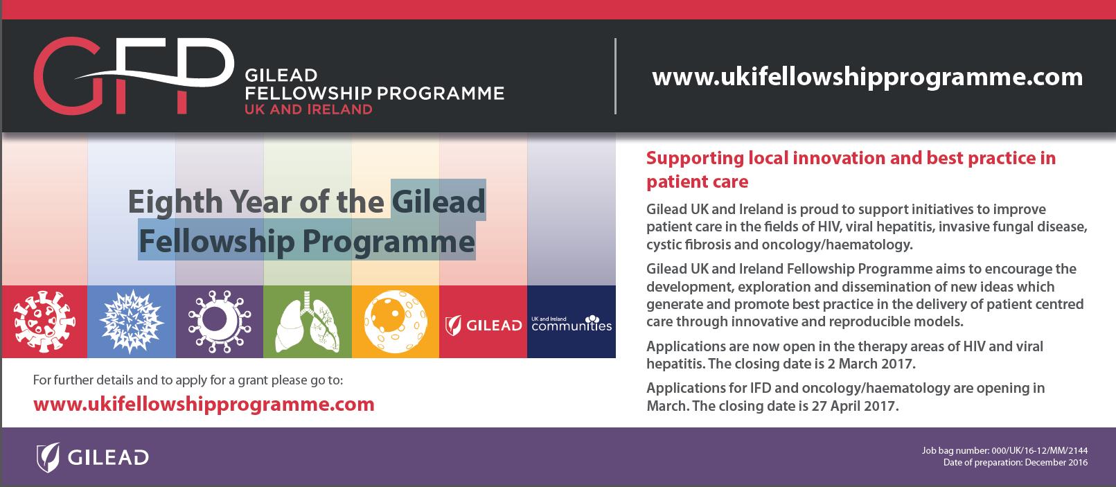 Gilead Fellowship ad 1
